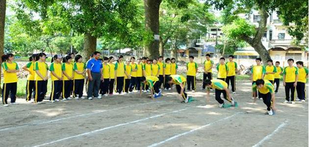 Kết quả hình ảnh cho Hoạt động thể thao trong sinh viên hiện nay.