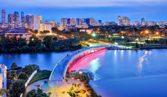 Cầu Ánh Sao - Địa điểm chơi ở Sài Gòn