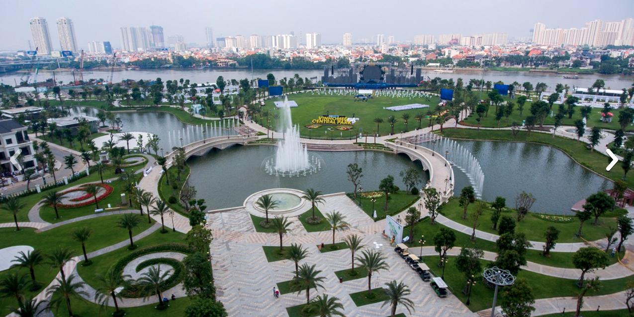 Công viên Vinhomes Central Park - Địa điểm chơi ở Sài Gòn lý tưởng