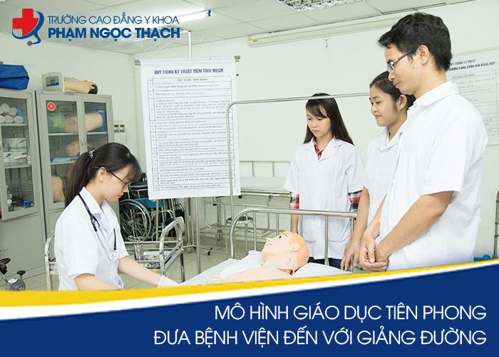 Trường Cao đẳng y khoa Phạm Ngọc Thạch là trường top đầu Các trường Cao đẳng Dược ở Hà Nội
